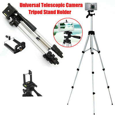 360 Flexible Tripod with Clip Phone Holder Portable Tripod for Camera /Phone UK
