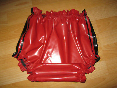 Gummi- Latexhose, Windelhose aus 4d Rubber Latex in der Größe L / XL !
