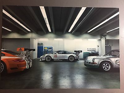 2016 Porsche 911 GT3 R Coupe Showroom Advertising Sales Poster RARE Awesome L@@K