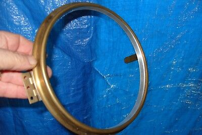 """clock parts brass bezel for american dial fusee dial clock 8 1/2""""  with glass"""