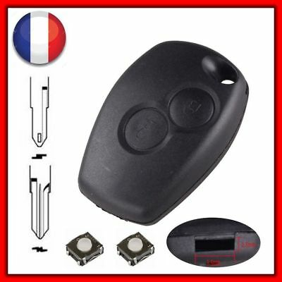 Plip Shell Key Housing Dacia Sandero Duster Lodgy Logan Dokker + 2 Switches