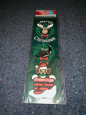 Vintage Christmas Iron On Appliques Ugly Christmas Sweater Diy 80's Or 90's