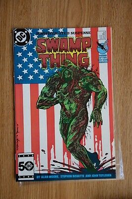 DC Swamp Thing #44 (Jan,1986) Batman Cameo, John Constantine app
