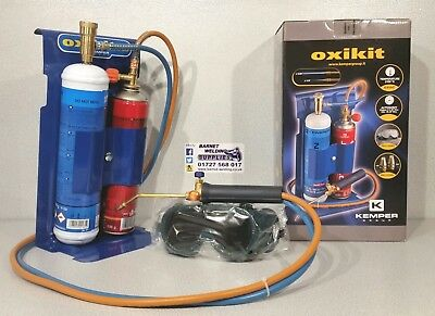 OXY / PROPANE PORTABLE GAS SET #040366 - heating brazing soldering lead burning