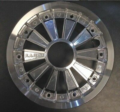 "Wheel rim 10"" split spoke effect alloy silver Vespa PX by F.A. Italia"