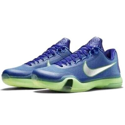 a711f2e25f1c Nike Kobe X 10 Emerald City Size 11 Men s Basketball Shoes Sneakers  705317-402