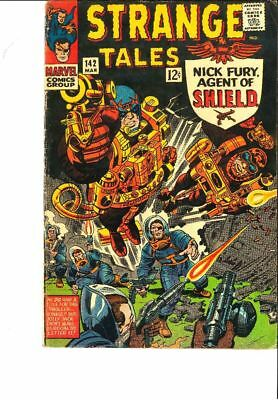 Strange Tales #142, Nick Fury, VG - One Cent Shipping