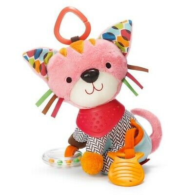 Skip Hop Playtime Bandana Buddies stroller Car Seat Activity Toy Kitty