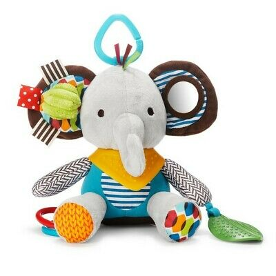 Skip Hop Bandana Buddies Baby Teether Stroller Activity Toy Elephant