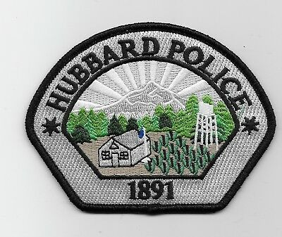Hubbard Police State Oregon OR patch NEW