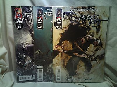 The Darkness Top Cow Comics Issues 75 C 76 B 77 A