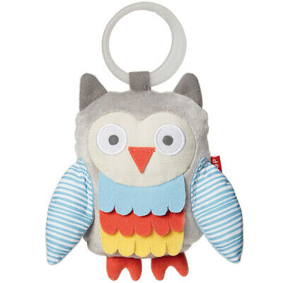 Skip Hop Treetop Friends Stroller Toy - Owl Grey/Pastel