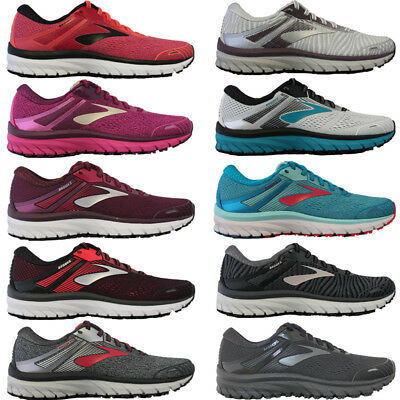 quality design da8a7 450c6 WOMENS BROOKS ADRENALINE GTS 18 Stability Support Running Shoes Sneakers NIB