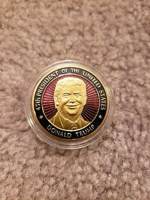 White House Donald Trump Military Challenge coin