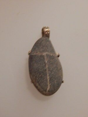 Stone from Dracula's Castle amulet pendant - Authentic - Paranormal - Ooak