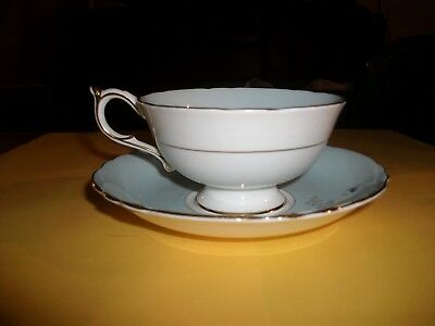 Vintage Paragon English Bone China Tea Cup and Saucer  Violetta