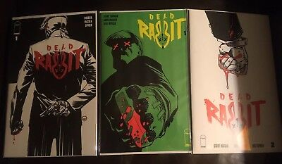 Dead Rabbit issue #1 1:10 Johnson Variant + Issues #1-2 1st Prints NM Recalled