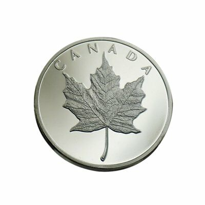 Canadian Maple Leaf Queen Elizabeth II Commemorative Silver Metal HOBO COIN