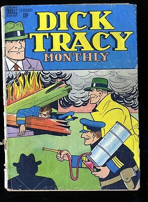 Dick Tracy Monthly #2 GD- 1.8
