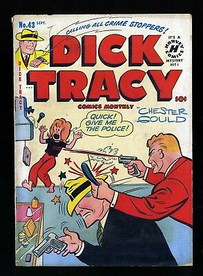 Dick Tracy Monthly #43 VG 4.0