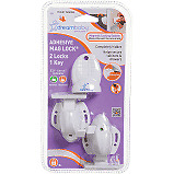 Dreambaby Baby / Child Adhesive Magnetic Mag Lock Set For Cupboards & Drawers