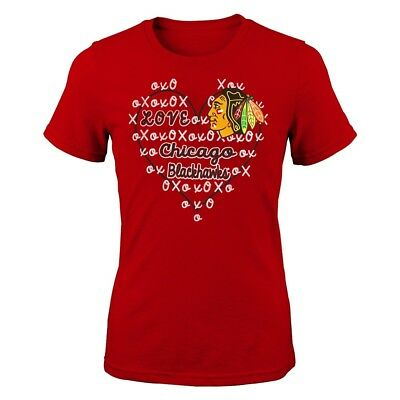 outlet store 52558 65865 Chicago Blackhawks Outerstuff NHL Girls Red