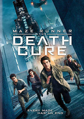 Maze Runner: The Death Cure (DVD, 2018)