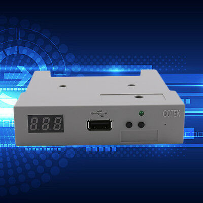 """3.5"""" Floppy Disk Drive to USB emulator Simulation For Musical Keyboard 1.44MB KN"""