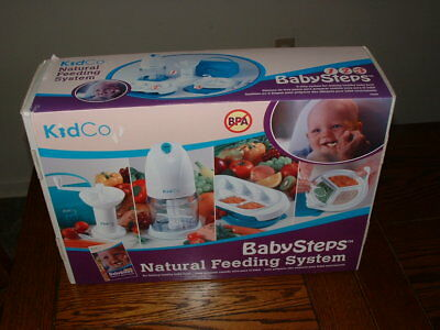 Kidco Baby Steps Natural Feeding System healty food processor containers/blender