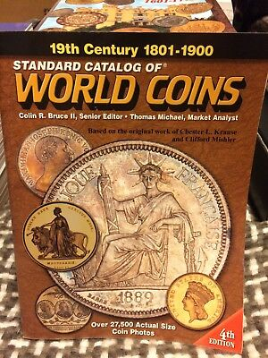 Krause Standard Catalog of World Coins 1801-1900 4th Edition