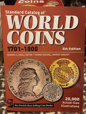 Krause Standard Catalog of World Coins 1701-1800 5th Edition