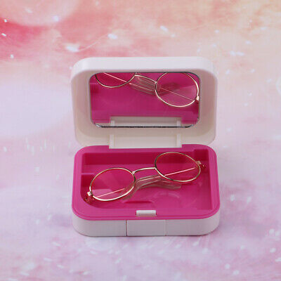 1/3 BJD Doll Sunglasses Glasses with Case for Night Lolita LUTS Fashion Outfit