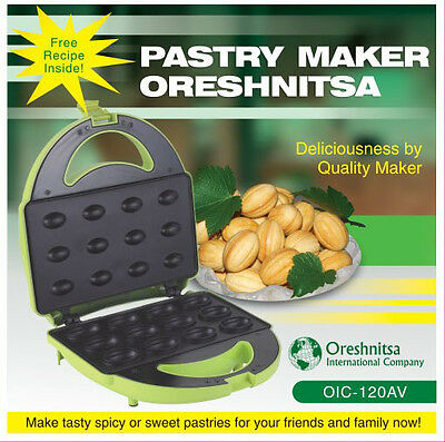 Pastry Maker 12 PC, oreshnitsa, Pastry maker, cookies, nuts