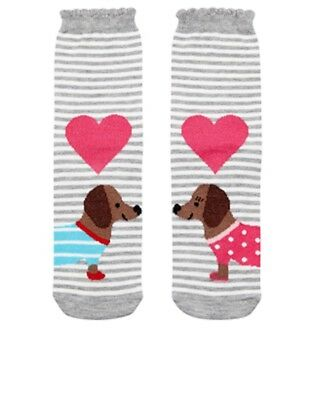 Mr And Mrs Sausage Dog / Dachshund Dog Socks Women's