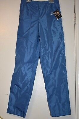 Vintage NIKE nylon pants blue label new with tags