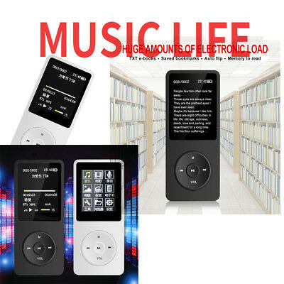 1.8'' LCD Screen Playback MP4 Music Player FM Radio Support TF Card IPod Style