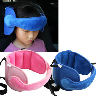 Kids Baby Head Neck Support Car Seat Belt Safety Headrest Pillow Pad Protector