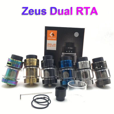 Zeus Dual RTA Tank 4ml with Top Airflow Leak-proof Support Single Dual Coil