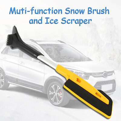 Extendable Ice Scraper w/ Brush for Car Windshield Snow Remove Frost Ice Cleaner