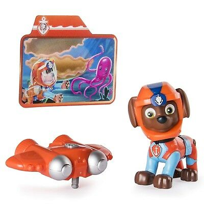 Paw Patrol Sea Patrol Light Up Zuma with Pup Pack and Mission Card