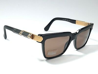 29e3d9ea8ca Vintage Gianfranco Ferre Gff 205 Black Gold Details Made In Italy Sunglasses