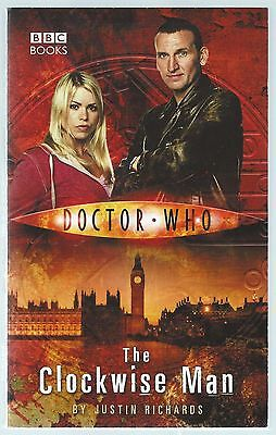 Doctor Who: The Clockwise Man Justin Richards BBC Paperback 2005 8th Printing G-
