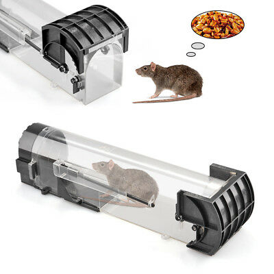 Plastic Humane Rat Trap Cage Pest Rodent Mice Mouse Catch Environmental