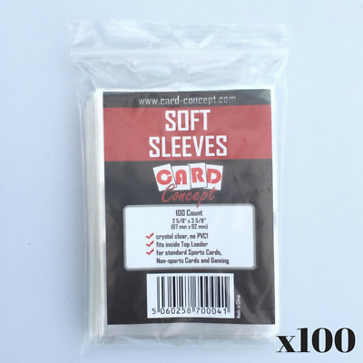 10000 Card Concept Soft Trading Card Sleeves - Pokemon/MTG Deck Protectors