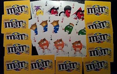 M & M 's Swap Cards Replacement Card Games Singles & Lots Free Shipping