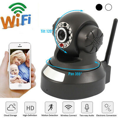 HD Wireless Network Baby Monitor Security IP Camera P2P Motion WIfi Night Vision