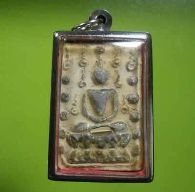 Perfect! Old Amulet Somdej Lp Mhoon Very Nice From Siam !!!