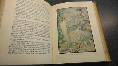1936 Andersen's Fairy Tales Illustrated By Monro S. Orr Colour Plates