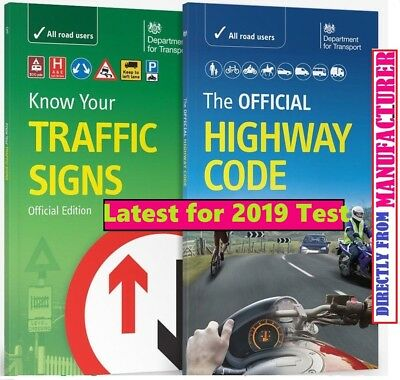 The official Highway Code, Know Your Traffic Signs Test 2019 Book  -Trfc+Hw