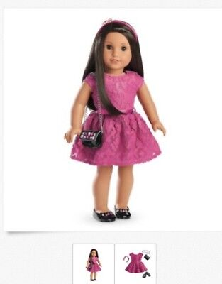 """American Girl Merry Magenta Outfit Truly Me NEW For 18"""" Dolls Clothes"""